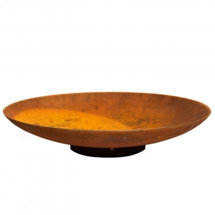 Clifton Nurseries Curved Corten Steel Water Bowl