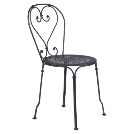Clifton Nurseries Fermob 1900 Chair - Anthracite