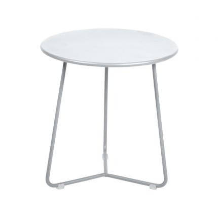 Clifton Nurseries Fermob Cocotte Side Table/Low Stool - Cotton White