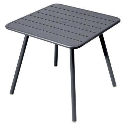 Clifton Nurseries Fermob Luxembourg 80cm 4 Leg Table - Anthracite