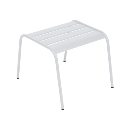 Clifton Nurseries Fermob Monceau Footrest Low Table - Cotton White
