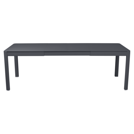 Clifton Nurseries Fermob Ribambelle Table with 2 Extensions - Anthracite