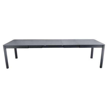 Clifton Nurseries Fermob Ribambelle Table with 3 Extensions - Anthracite