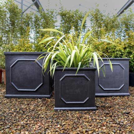 clifton nurseries clayfibre chelsea box 45cm 55cm 65cm for your garden