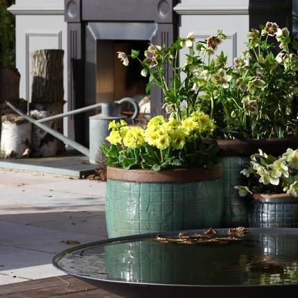clifton nurseries yakuta water jar fuzhou green 28cm 41cm 51cm garden pots