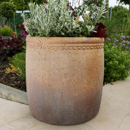 Clifton Nurseries pot company old ironstone outdoor planter