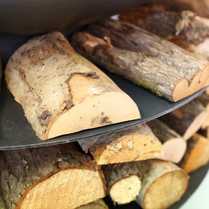 Clifton Nurseries Ring of Logs - Detail