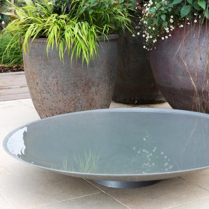 Clifton Nurseries Steel Water Bowl