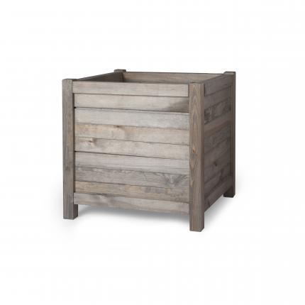Clifton Nurseries wooden planter 60cm