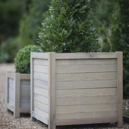 Clifton Nurseries wooden planter large