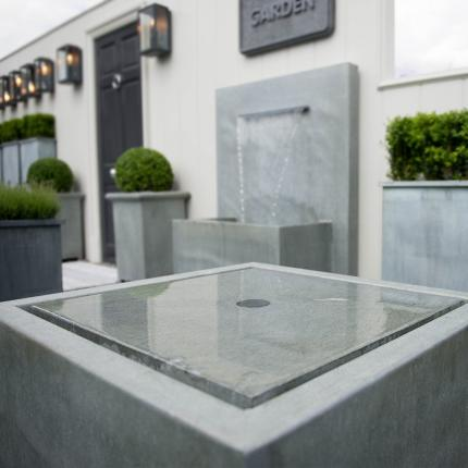 Clifton Nurseries Square Qube Fountain