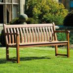 Alexander Rose Cornis Broadfield hardwood 4ft bench garden
