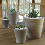 Clifton Nurseries Goicoechea Contemporary Vase in Grey