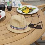Clifton Nurseries alexander rose bengal 6 seater dining set table detail