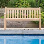 Clifton Nurseries alexander rose broadfield 2 seater bench