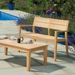 Clifton Nurseries alexander rose hardwood bench 4ft