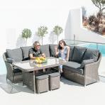 Clifton Nurseries alexander rose monte carlo casual dining set