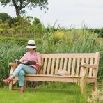 Clifton Nurseries alexander rose park bench 3 seater