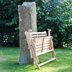 Clifton Nurseries alexander rose roble folding wooden bench