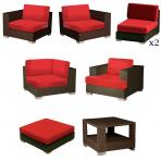 Clifton Nurseries Barlow Tyrie Arizona Casual Seating Furniture included