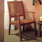 Clifton Nurseries Barlow Tyrie Monaco 8 Seater Traditional Teak Dining Set Armchair