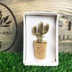 Clifton Nurseries Cactus Bottle Stopper in packaging