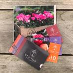 Clifton Nurseries Gift Vouchers - Free Greetings Card