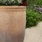 Clifton Nurseries - Old Ironstone Cylinder Planter - Detail