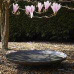 Clifton Nurseries Curved Steel Water Bowl