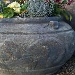 Clifton Nurseries Vintage Planter in Verdigris