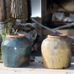 clifton nurseries yakuta water jar jiajing green 31cm garden planter