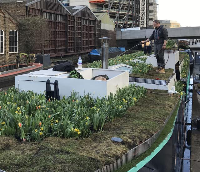 Clifton Nurseries Floating Garden