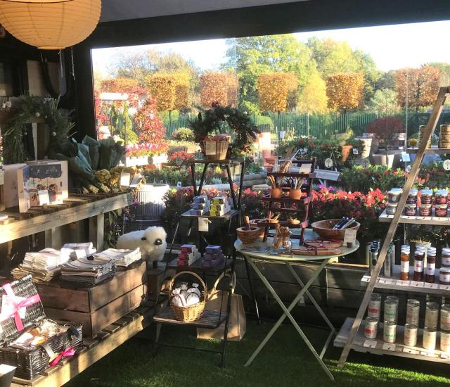 Food and Artisan Collection at Clifton Nurseries Surrey