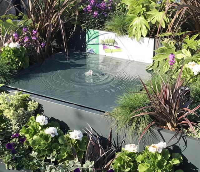 Pocket Show Garden at Clifton Nurseries London