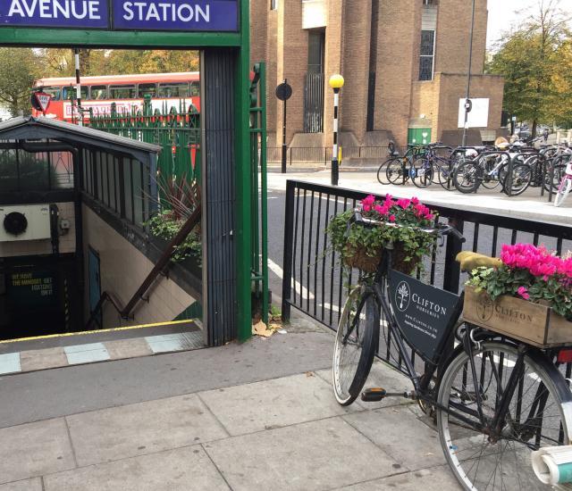 Greening and brightening up Warwick Avenue Underground Station
