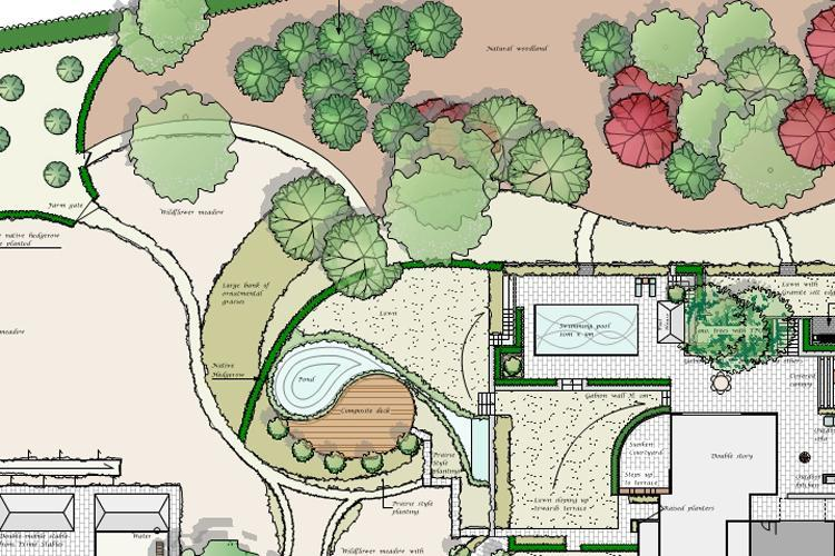 Clifton Nurseries Garden Design Plan