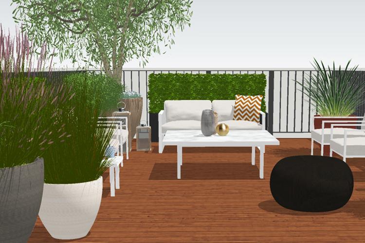 Clifton Nurseries Garden Design 3D Visual