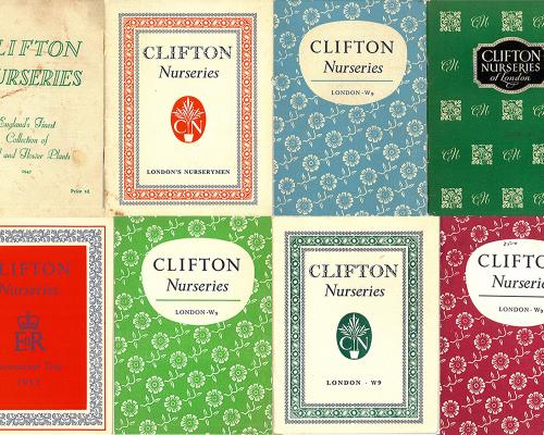 Clifton Nurseries Historical Catalogues