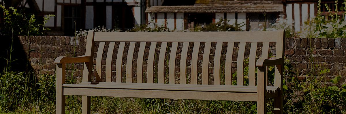 Clifton Nurseries alexander rose roble st george bench 6ft 4 seater