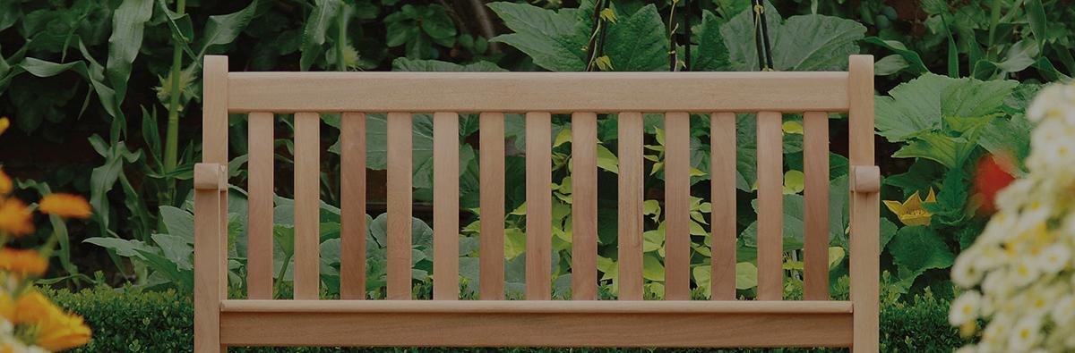 Clifton Nurseries alexander rose mahogany broadfield bench 2 seater