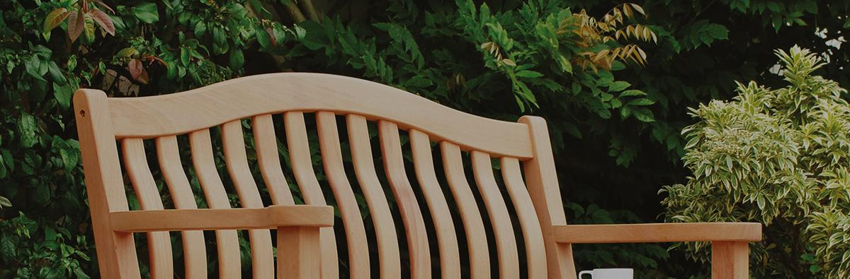 Clifton Nurseries alexander rose mahogany turnberry bench 5ft