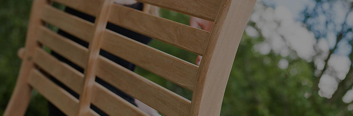 Clifton Nurseries Alexander Rose Roble Folding Bench