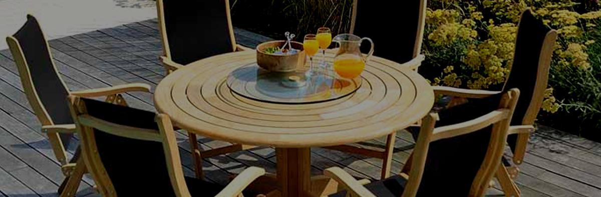 Clifton Nurseries Alexander Rose Bengal Roble 6-Seat Dining Set
