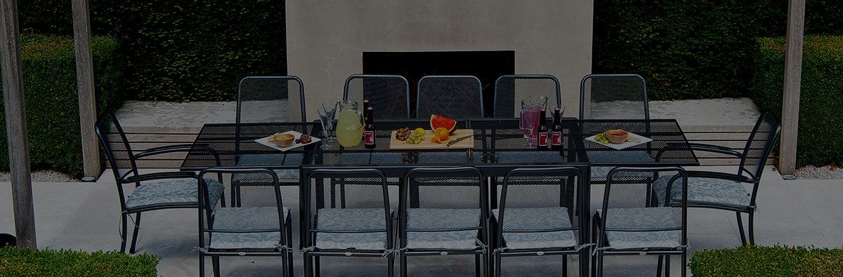 Clifton Nurseries alexander rose portofino outdoor stacking armchair grey