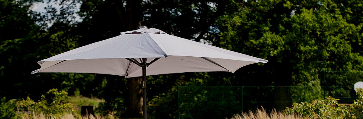 clifton nurseries alexander rose round 2.7 aluminium tilting parasol