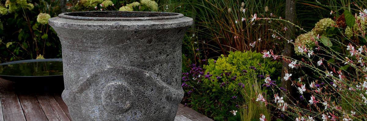 Clifton Nurseries Versailles Planter Verdigris Large Pots and containers 5394