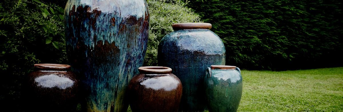 clifton nurseries yakuta water jars planters
