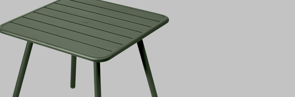 Clifton Nurseries Fermob Luxembourg 80cm 4 Leg Table