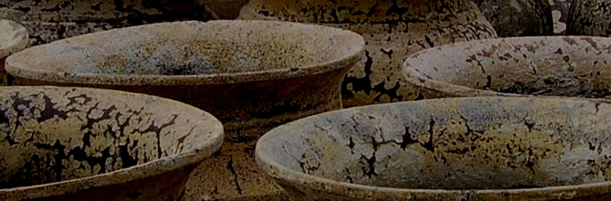 Clifton Nurseries Saturn Jar in Salvage