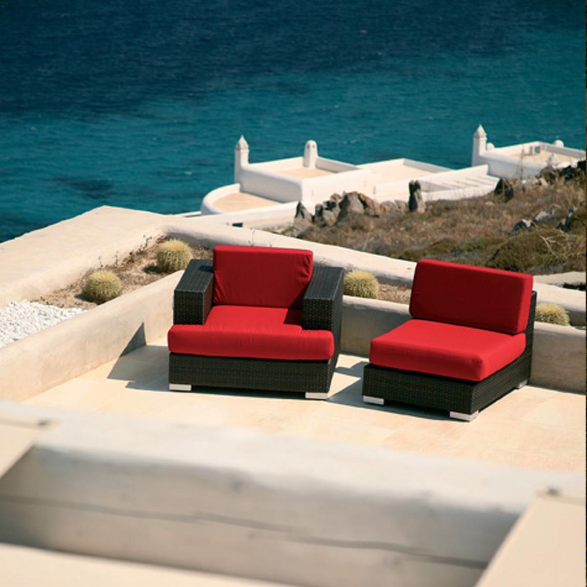 barlow tyrie arizona casual seating set. Black Bedroom Furniture Sets. Home Design Ideas